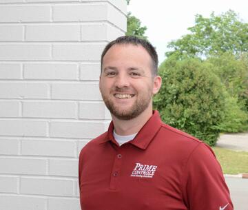 Prime Controls Employee Brett Vance